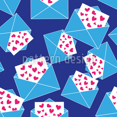 So Many Love Letters Pattern Design