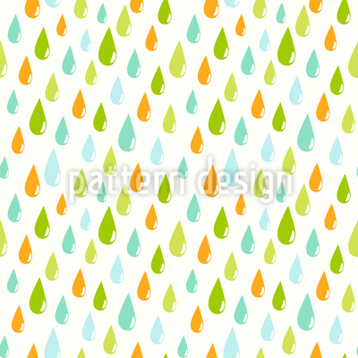 Rain Drops Pattern Design