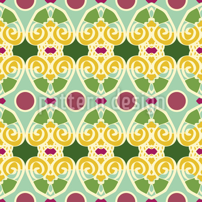 Classical Dance Vector Pattern