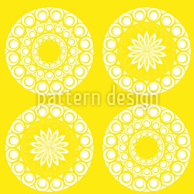 Mandala Sonnen Rapportmuster