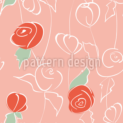 Nostalgic Rose Garden Vector Design