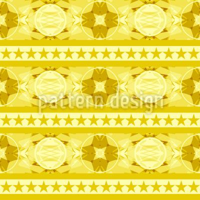 Festliche Bordüre Muster Design