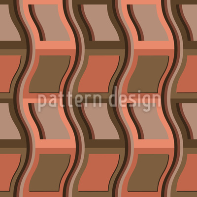 Gestapelte Stühle Nahtloses Muster