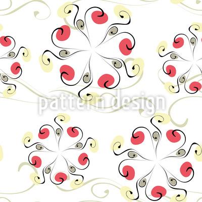 Kringel Karussell Nahtloses Muster