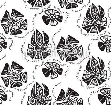 Floral Memories Seamless Vector Pattern