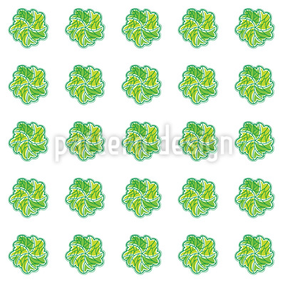 Leaf Swirl Vector Design