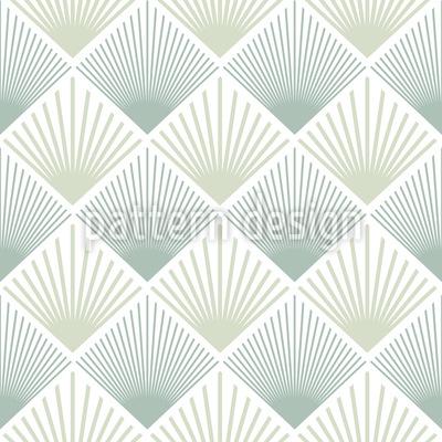 Art Deco Fächer Nahtloses Muster