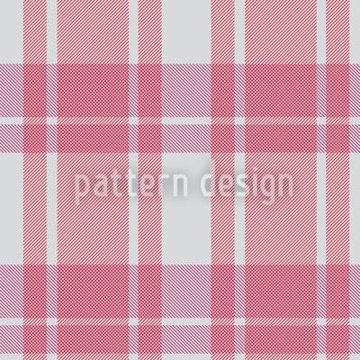 Tartan Pink Nahtloses Vektor Muster