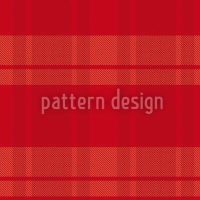 Tartan Rot Vektor Muster