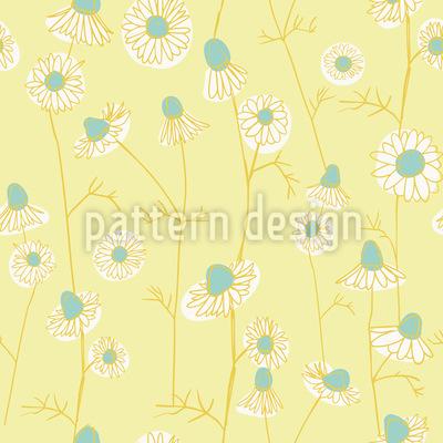 Kamille Muster Design