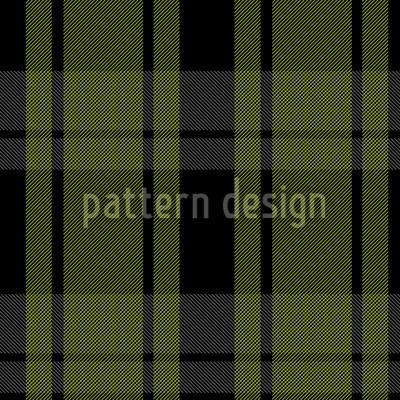 Tartan Schwarzgrün Vektor Design