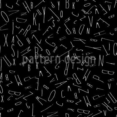 Purzelnde Buchstaben Vektor Design
