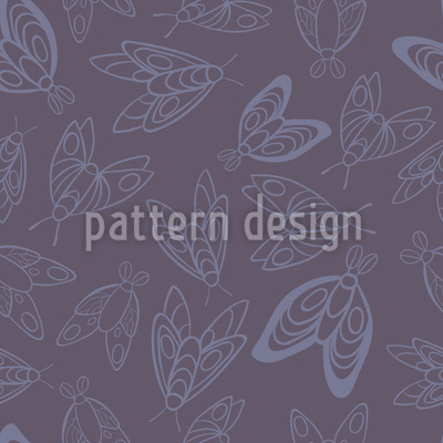 Moths Pattern Design