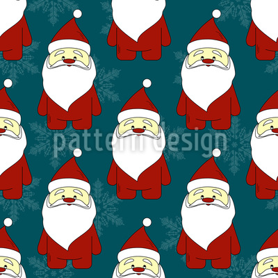 Father Christmas Vector Ornament