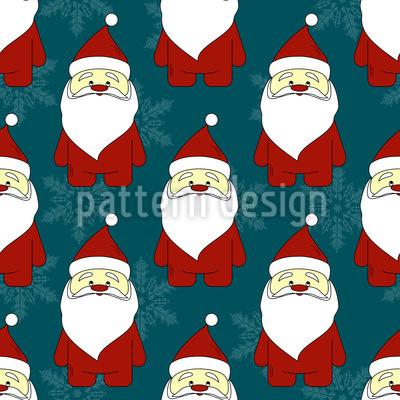 Weihnachtsmann Vektor Ornament