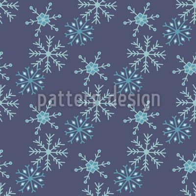 Schneesturm Muster Design