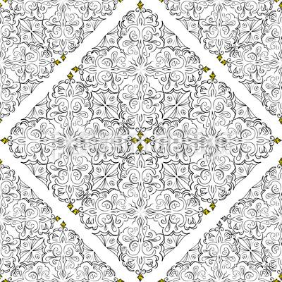 Eine Million Karat Musterdesign