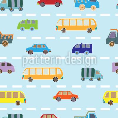 Verkehr Vektor Muster