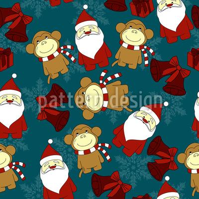 Christmas For Kids Pattern Design