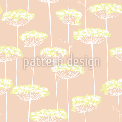 Fennel Blossoms Repeating Pattern