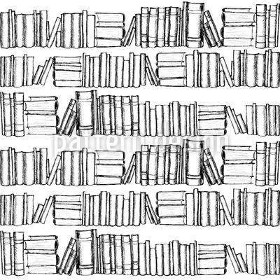 Alte Bücher Vektor Muster