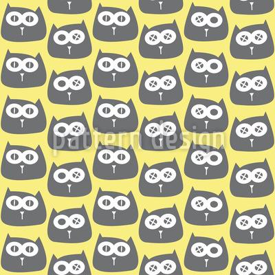 Katzen Muster Design