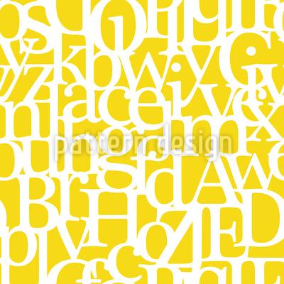 Buchstabencode Vektor Ornament