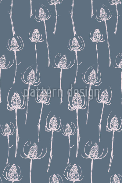 Thistle Vector Pattern