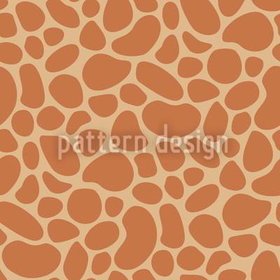 Giraffenbaby Rapportiertes Design