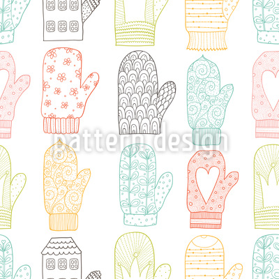 Handschuhe Muster Design