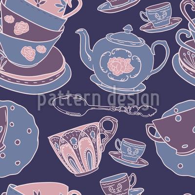 Pottery Seamless Pattern
