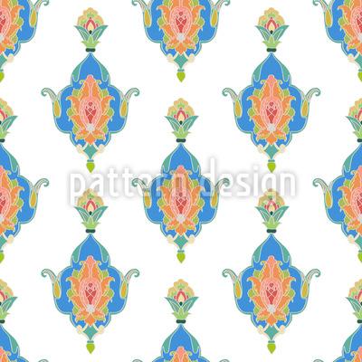 Orientalische Pracht Nahtloses Muster