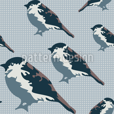 Sparrows Repeat Pattern