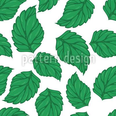 Hopfen Blätter Musterdesign