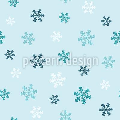 Winter Schneeflocken Designmuster