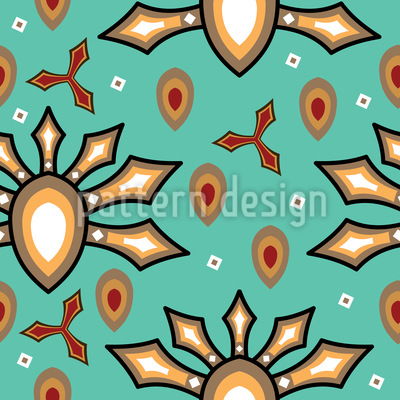 Cultural Origins Seamless Vector Pattern
