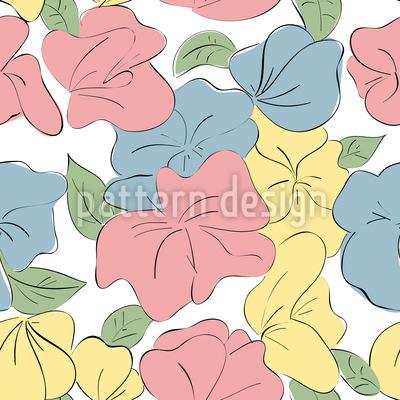 Les Fleurs Pattern Design