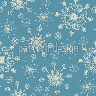 Fantasie Schneeflocken Vektor Ornament