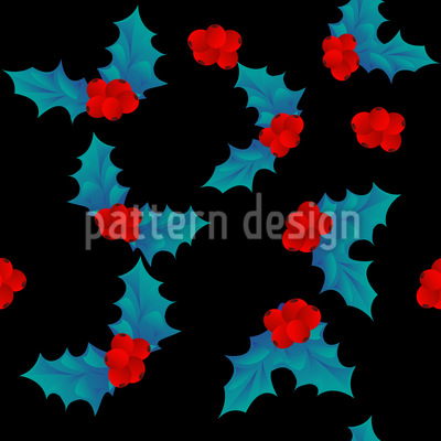 Christmas Holly Design Pattern