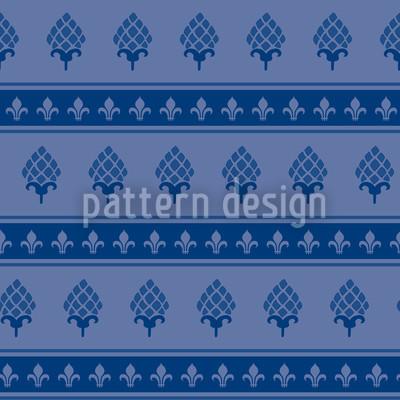 Royale Artischocken Designmuster