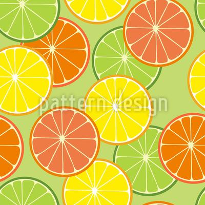 Limette und Freunde Musterdesign