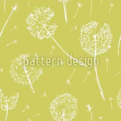 Dandelion Fly Design Pattern
