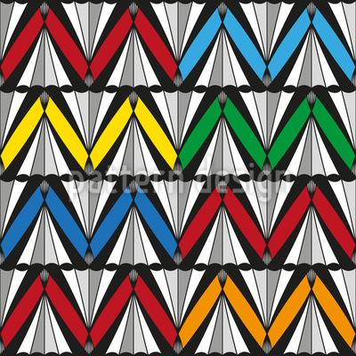 Zigzag Fun Pattern Design