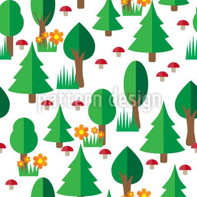 Forest Walk Pattern Design