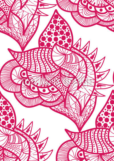 Lifely Fantasy Vector Pattern