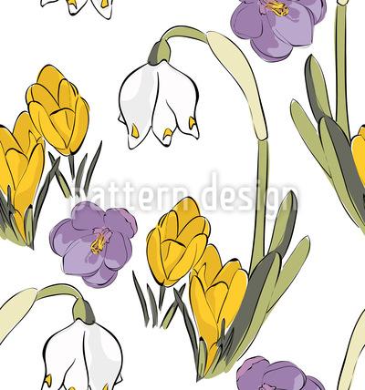 Frühlings Mix Muster Design
