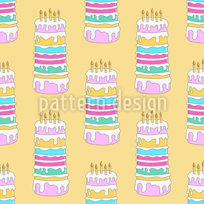 Geburtstags Kuchen Vektor Design