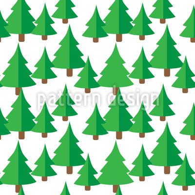 Tannen Wald Vektor Ornament